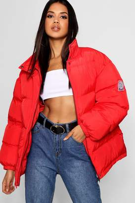 boohoo Sporty Puffer Jacket
