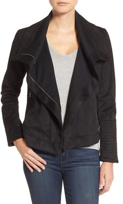 Women's Lucky Brand Faux Suede Moto Jacket $225 thestylecure.com