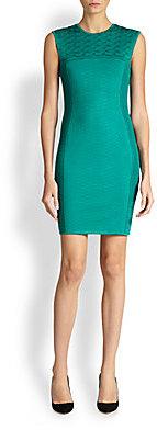 Roberto Cavalli Knit Jacquard Dress