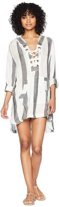 L-Space Love Letters Tunic Cover-Up Women's Swimwear