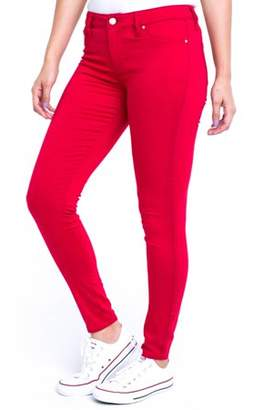Planet Pink Juniors' Super Soft Mid-Rise 29 Jeggings (Denim and Color Washes)