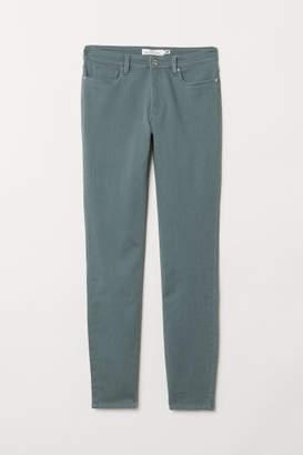 H&M Super Slim-fit Pants - Green