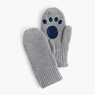 J.Crew Girls' sparkly cat mittens