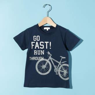 3can4on (サンカンシオン) - サンカンシオン 【150cmまで】自転車プリントTシャツ