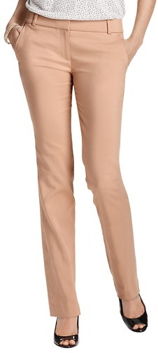 LOFT Tall Marisa Straight Leg Pants in Clean Cotton Blend