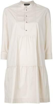 Twin-Set henley shirt dress