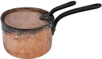One Kings Lane Vintage Antique Copper Sous Chef's Pan