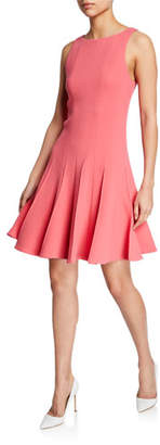 Emporio Armani Sleeveless Pleated-Skirt Dress