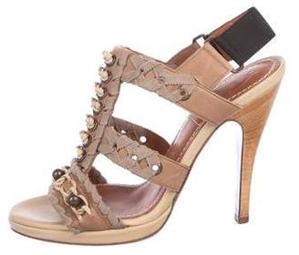 Lanvin Leather High Heel Sandals