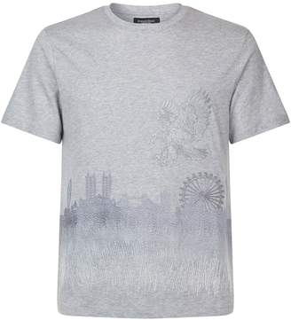 Stefano Ricci London Skyline T-Shirt