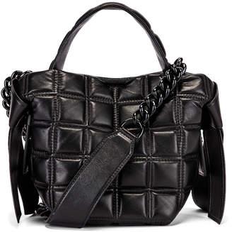 Acne Studios Mini Quilted Musubi Bag in Black | FWRD