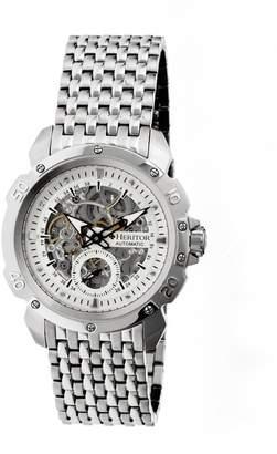 Heritor Men's HERHR2501 Carter Stainless Steel Watch