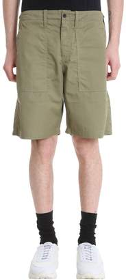 Our Legacy Green Cotton Shorts