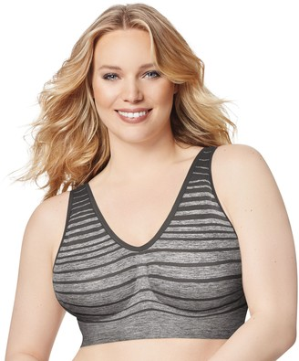 Just My Size Bras: 2-pack Pure Comfort Full-Figure Wire-Free Bra1263