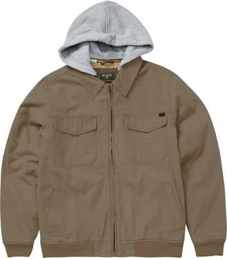 Billabong Barlow Twill Hooded Jacket