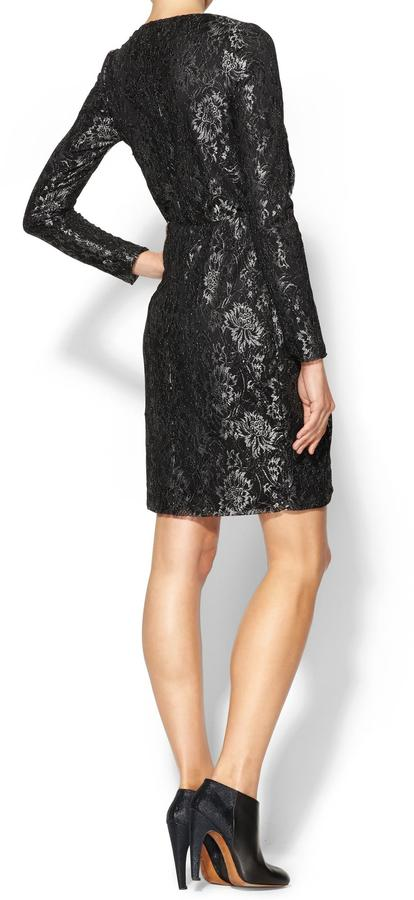 See by Chloe Sabine Metallic Lace Dress