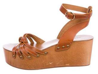 Etoile Isabel Marant Leather Platform Sandals