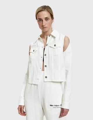 MM6 MAISON MARGIELA Convertible Denim Jacket