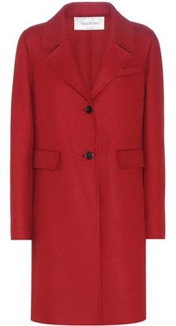 ValentinoValentino Virgin Wool And Angora-blend Coat