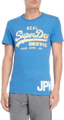 Superdry Light Blue Logo Tee