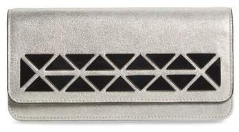 Vince Camuto Fit Studded Leather Wallet