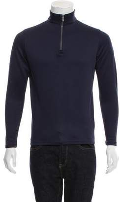 Dunhill Wool-Blend Half-Zip Sweater