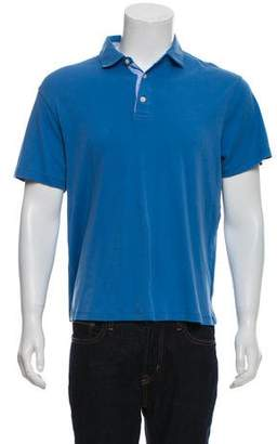 Michael Kors Short Sleeve Polo Shirt