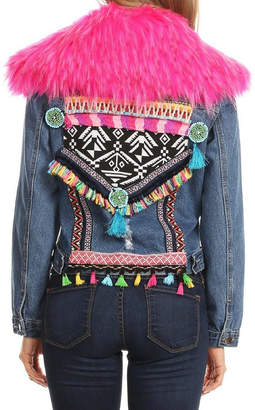 LIFTED Boutique Embroidered Denim Jacket