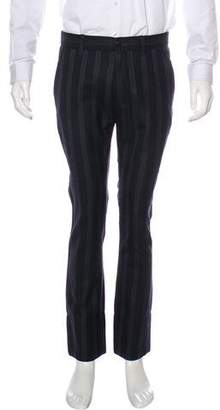 Ann Demeulemeester Striped Wool Pants w/ Tags