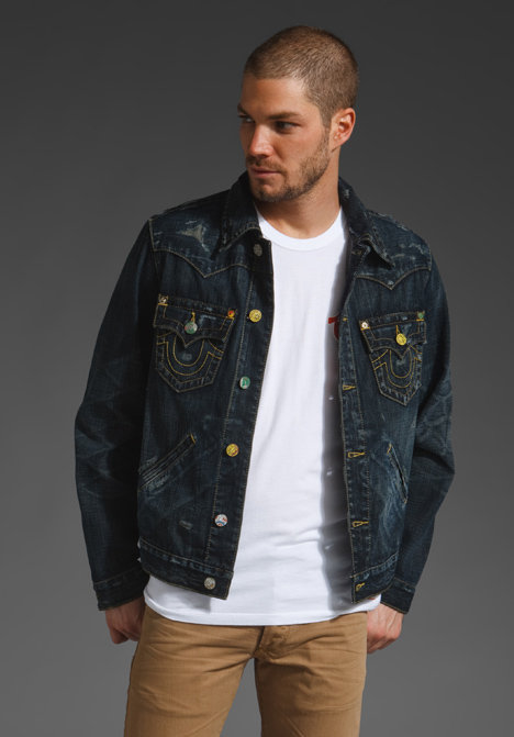 True Religion Johnny Vintage Jacket