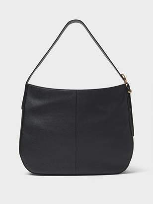 DKNY Pebbled Leather Medium Hobo