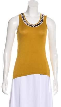 Etro Embellished Sleeveless Top
