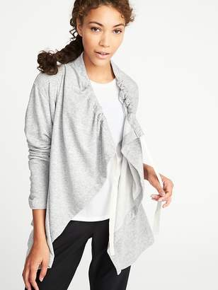 Old Navy Cinched-Collar Open-Front Wrap for Women