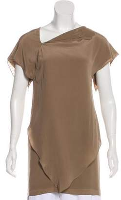 3.1 Phillip Lim Pleated Asymmetrical Tunic