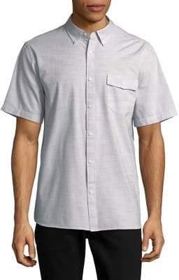 Black & Brown Black Brown Short-Sleeve Button-Down Shirt