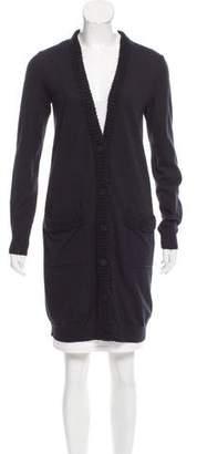 Lanvin Longline Knit Cardigan