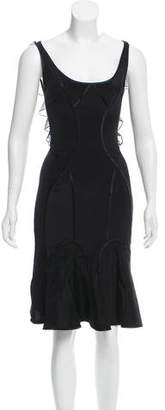 Zac Posen Paneled Sheath Dress