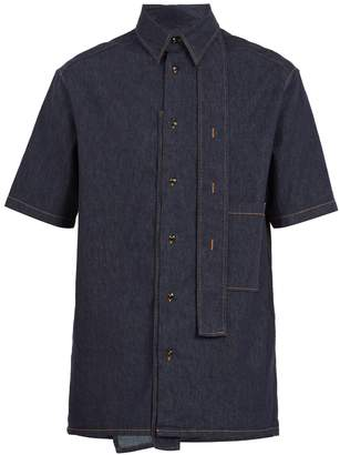 Valentino Denim short-sleeved shirt