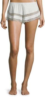 Eberjey Georgette Lace-Trim Shorts, Multi $46 thestylecure.com