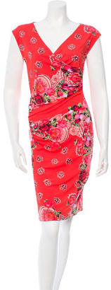 Jean Paul Gaultier Floral A-Line Dress $145 thestylecure.com