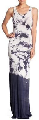 Couture Go Racerback Tie Dye Maxi Dress
