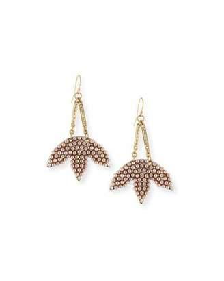 Lulu Frost Tuileries Statement Drop Earrings $235 thestylecure.com