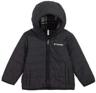 Columbia Double Trouble Omni-Shield Reversible Water-Resistant Hooded Jacket