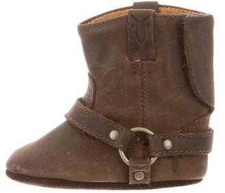 Frye Girls' Suede Harness Booties