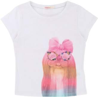 Billieblush Girls Short Sleeve Printed T-shirt