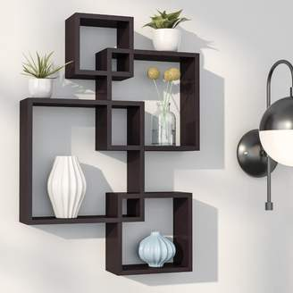 Langley Street Spoon Intersecting Cubes Shelf