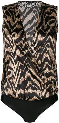 Parah tiger stripe print body