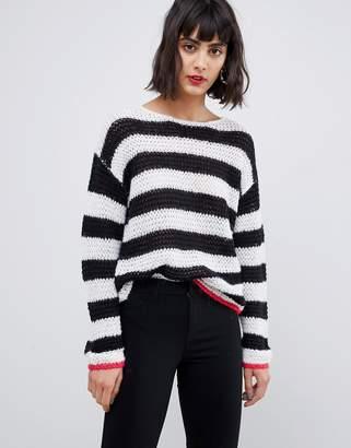 Pieces Stripe Sweater