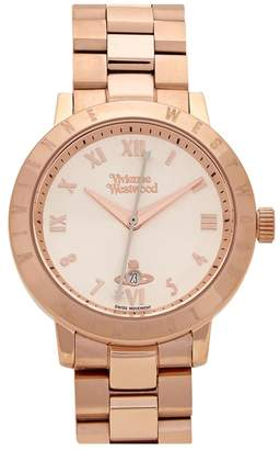 Vivienne Westwood Bloomsbury Rose Gold Tone Watch