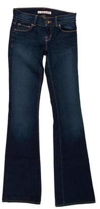 J Brand Low-Rise Wide-Leg Jeans